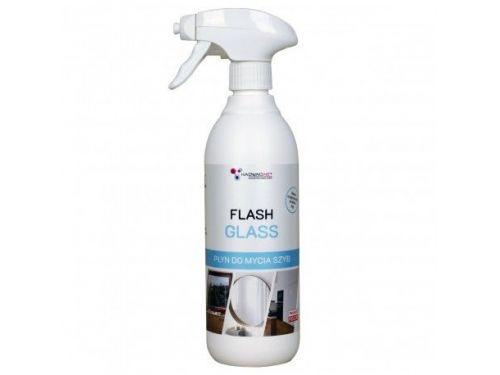 Flash Glass - Specjalistyczny płyn do mycia szyb, luster, 500 ml